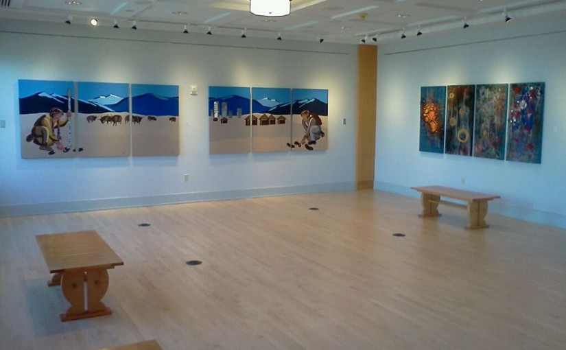 Ajai at Vida Ellison Gallery